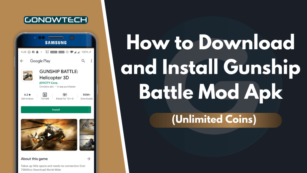 How to Download and Install Gunship Battle Mod Apk