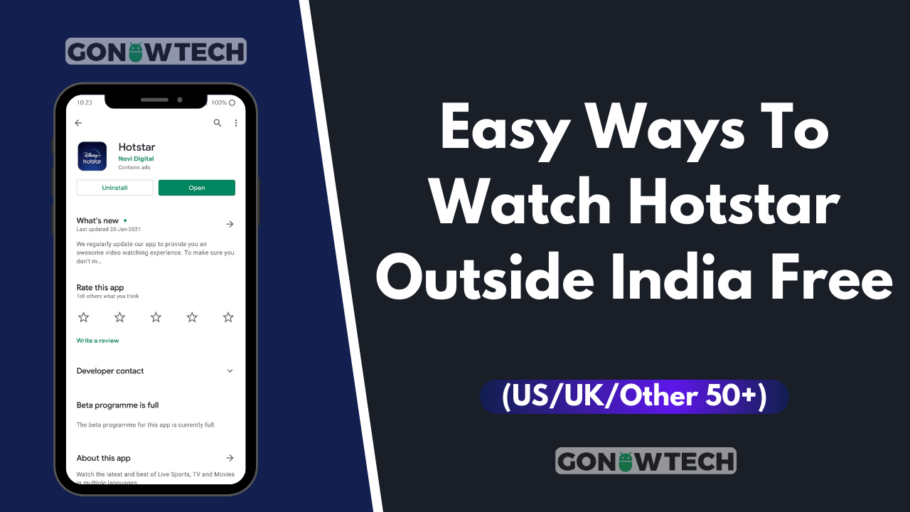 How to watch Hotstar outside India free [Full Guide]